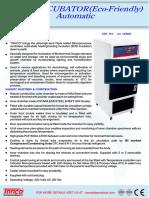BOD Incubator | Manufacturer and Supplier | New Delhi India | Tanco