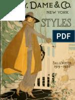 (1919) New York Styles