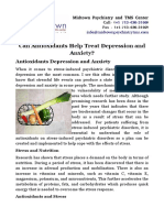 Can Antioxidants Help Treat Depression and Anxiety?