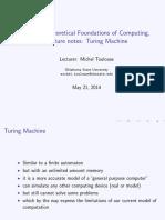 Turing Machine