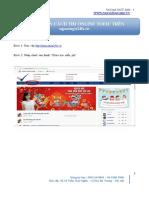 Hướng dẫn thi toeic online