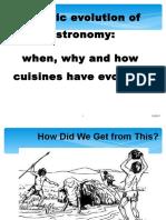 History of Gastronoomy