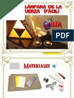 Moldes Lampara Zelda