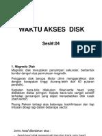 So-pertemuan4_waktu Akses Disk_4sks
