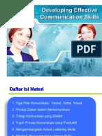 Sampel Effective Communication Skills