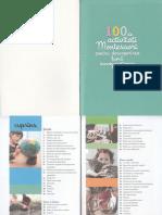 100 de Activitati Montessori Pentru Descoperirea Lumii