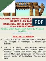 Rationalised Master Plan & Zonal Dev. Plan for Kakatiya (Warangal) Dev. Area
