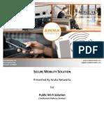 Public Wi-fi Soltuion
