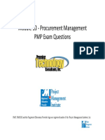 Module 10 Procurement Management