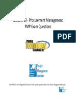 Module 10 Procurement Management