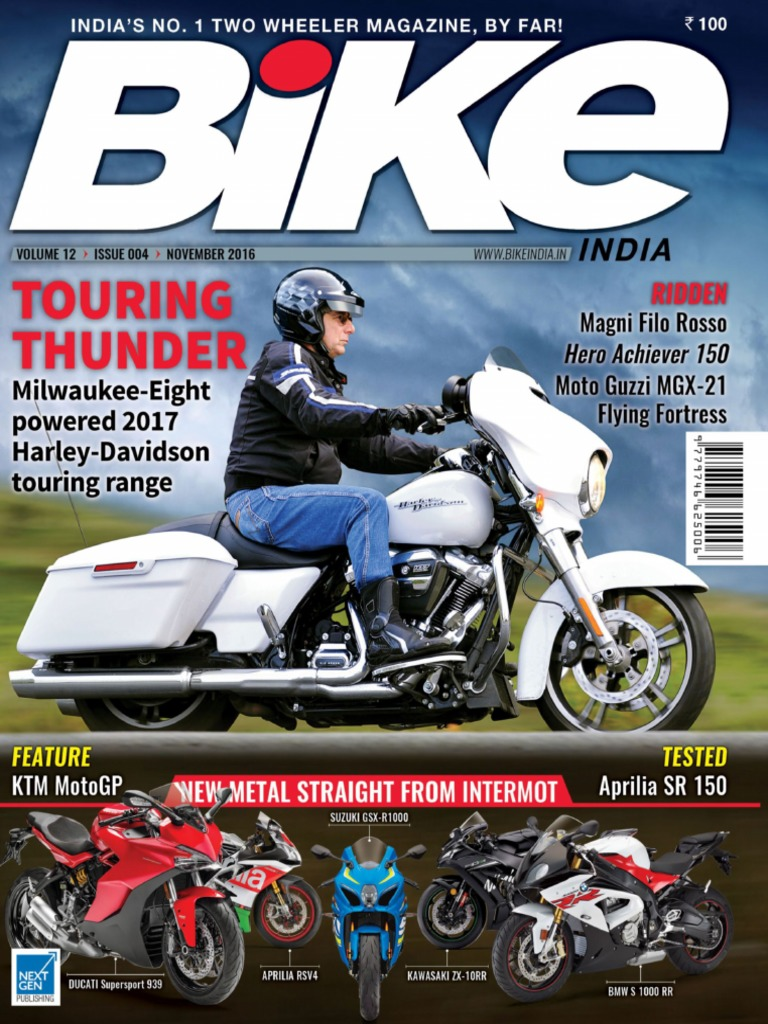 Bike India   November 2016 | Motorcycle | Personal Transporters
