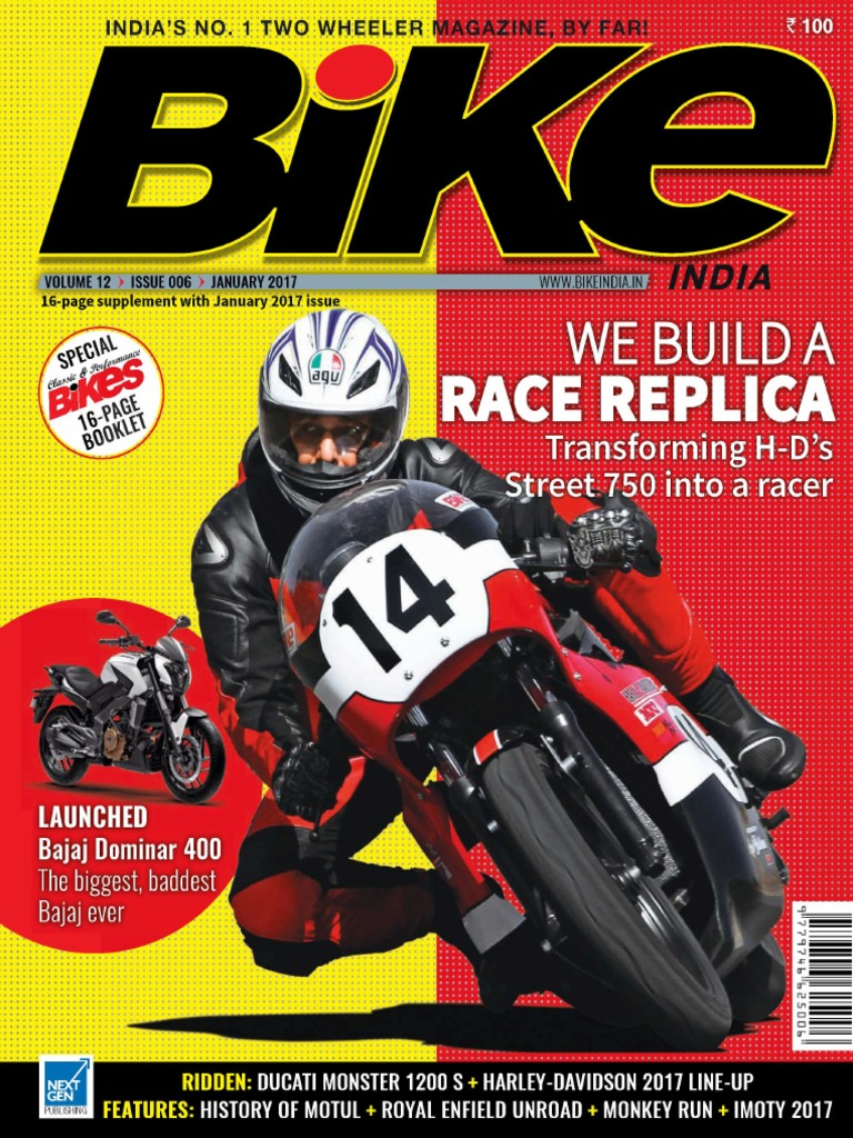 Bike India   January 2017 | Personal Transporters | Motor Vehicle