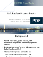 10 Risk Review Process