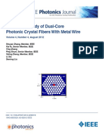 Theoretical Study of Dual-Core Photonic