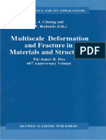 W. Y. Chien, H. -M. Huang, J. Pan, S. C. Tang (Auth.), T. -J. Chuang, J. W. Rudnicki (Eds.)-Multiscale Deformation and Fracture in Materials and Structures_ T