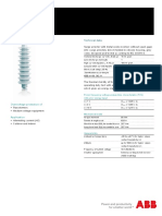 ABB Surge Arrester POLIM-D - Data Sheet 1HC0075853 E01 AD