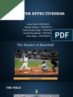 Player Effectiveness