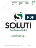 MPO.100 v.1 - Manual de Emissão de Certificado Digital Soluti