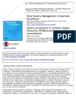 4. Quality Excellence in Complex Supply Networks - EFQM Excellence Model Reconsidered