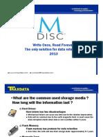 M DISC Traxdata