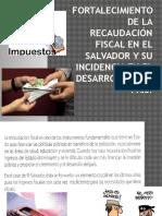 272038379 Fortalecimiento de La Recaudacion Fiscal en El Salvador