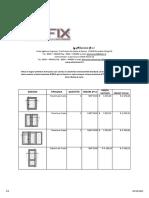 Listino Lefix 71 Db