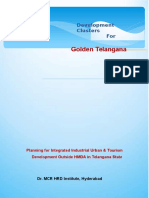 Development Clusters for Telangana: Planning for Integrated Industrial,Urban & Tourism Development