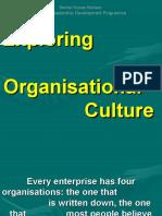 Exploring Organisational Culture