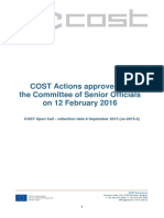 Approved Actions 2016