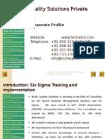 Niche QS Six Sigma Training & Implementation Services