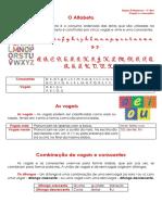 1.1 Ficha Informativa Vogais e Consoantes
