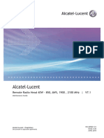 21 (Alcatel-Lucent Remote Radio Head 40W - 850, AWS, 1900 , 2100 MHz - Maintenance Guide) 4.05 Standard June 2010