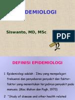 EPIDemiologi Bpk Siswanto