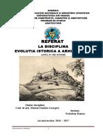 Referat Istoria Arhitecturii Romania