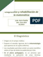 Diagnóstico y Rehabilitación de La Matemática Presentación 1 y 2