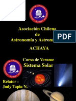 Apuntes Sistema Solar Curso de Verano