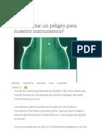 La Carcoma_ Un Peligro Para Nuestro Instrumento_ — Taller de Lutheria