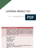 Weekly Report Week II
