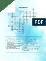 Comp Crossword