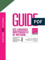 Guide Librairies indépendantes de Bretagne 2016