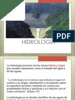 Clase 1 Introducción a La Hidrología