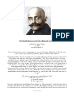 Gurdjieff´s sayings on Food, Eating & Cooking