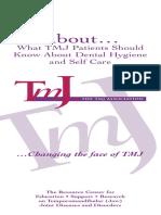 TMJ Hygiene Patients
