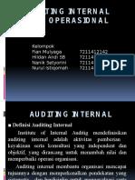 Auditing Internal Dan Operasional