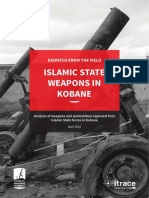Islamic State Weapons in Kobane