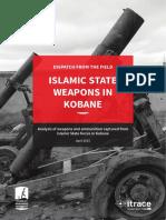 Islamic State Weapons in Kobane