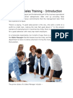Business Sales Training