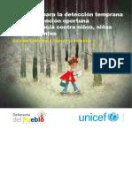 Protocolo para la detección temprana y la intervención oportuna de la violencia contra niños, niñas y adolescentes