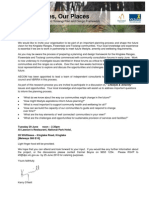 KFT Plan - Lifestyle and Amenity Workshop