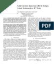 2010 EMC Europe Modeling of Bulk Current Injection (BCI) Setups for Virtual Automotive IC Tests